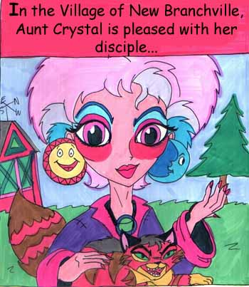 Aunt crystal